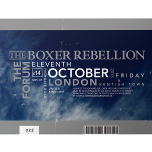 live at the forum the boxer rebellion